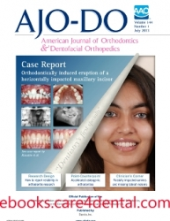 American Journal of Orthodontics and Dentofacial Orthopedics 1999-2013 Full Issues