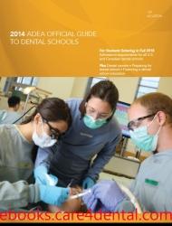 2014 ADEA Official Guide to Dental Schools (pdf)